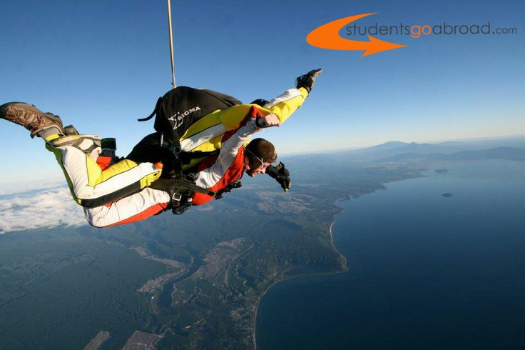 #Skydiving in #NewZealand