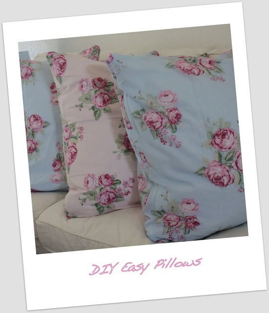 Shabby Chic Pillows Diy : 17 Best images about Home on Pinterest Embroidery hoops, Shabby chic crafts and Pillow tutorial