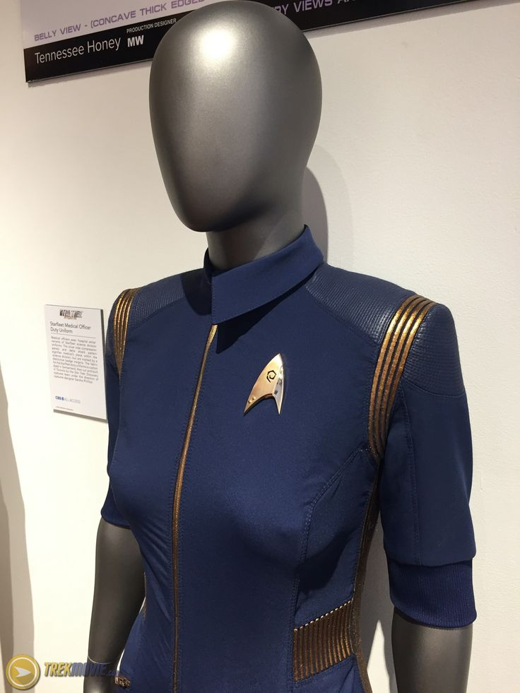 SDCC17: See The Federation and Starfleet Costumes and Props From 'Star Trek: Discovery' – TrekMovie.com