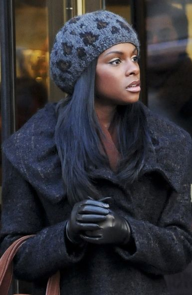 Tika Sumpters hat hairstyles