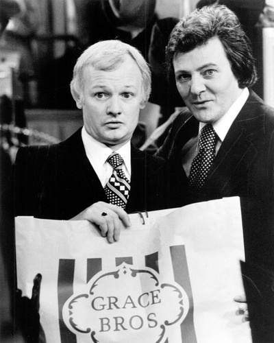 Are You Being Served (1972–1985)  Mr. Humphries (John Inman) And Mr. Lucas (Trevor Bannister). S)