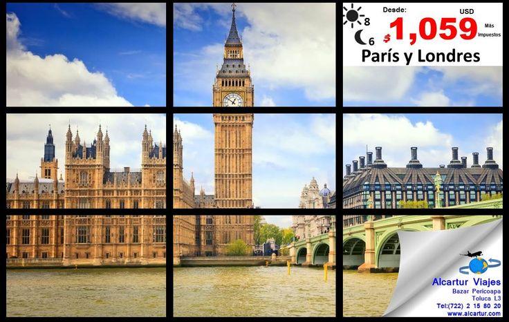 Tú, yo.....Paris y Londres........nuestra luna de miel....... no sé, piénsalo  Visítanos, somos expertos en viajes  Desde: $ 1,059 usd + Impuestos Aéreos 8 Dias / 6 Noches                                           Bazar Pericoapa Toluca L3 Tel: (722) 2 15 80 20 www.alcartur.com  #alcarturviajes #bazarpericoapatoluca #toluca #metepec #paqueteseuropa #mexico #cdmx #zinacantepec #tenancingo #Toluca #Metepec #valledetoluca #lunademiel #mujeresvalientes #mujeresempoderadas #mujeresconvalor