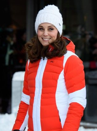 You can buy the bobble hat the Duchess of Cambridge wore in Norway at your local supermarket. #norway #katemiddleton #winterfashion