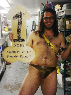 Brooklyn, 3rd small penis contest - 2015