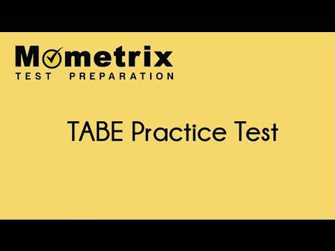https://www.youtube.com/watch?v=SVP1pK2gOAU Free TABE exam practice questions and review tips. Get the help you need on your TABE test.