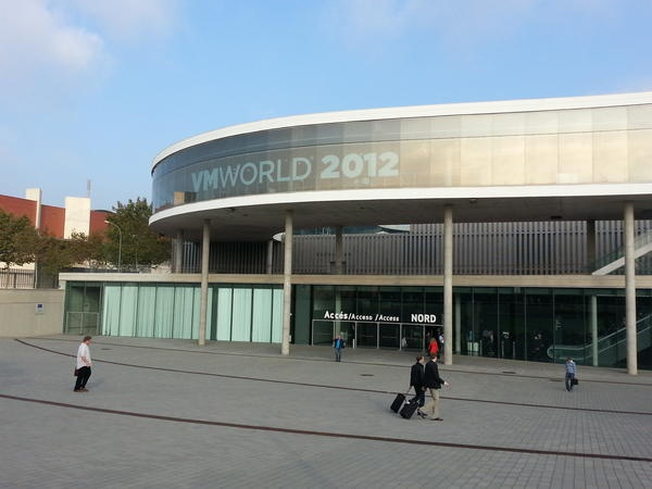 VMworld 2012 @Barcellona.