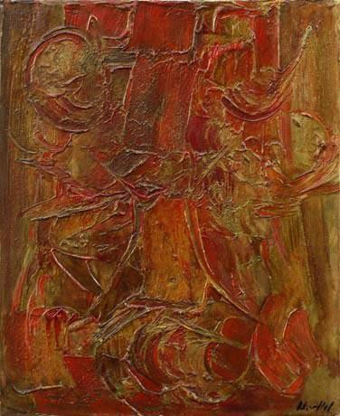 COMPOSITION 1959 - Roger-Edgar GILLET - Galerie Guigon