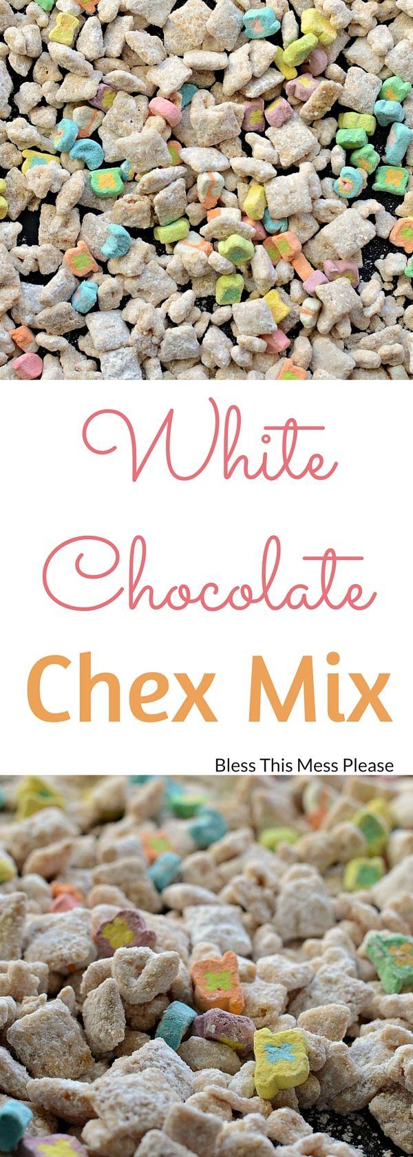 White Chocolate Chex Mix