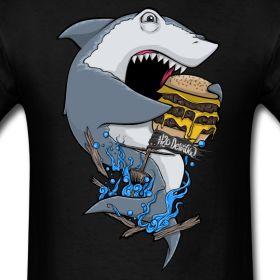 Hungry Shark Shirt | Delirious Loot - h2o delirious shop
