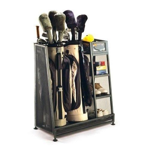 Golf Organizer Bag Storage Rack Club Equipment Holder New Accessories Sports NEW #GolfOrganizer