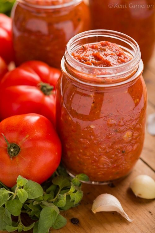 Roasted Tomato Marinara Sauce with Garlic and Oregano