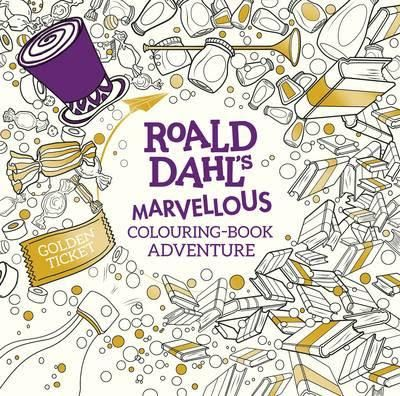 Roald Dahls Marvellous Colouring Book Adventure By Dahl Available At Depository With Free Delivery Worldwide