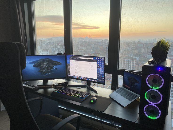 My Gaming&Programming Setup in 2020 Desktop setup