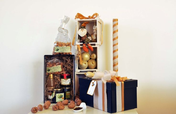 for sweet lovers.. Sweet gift box based on olive oil sweets