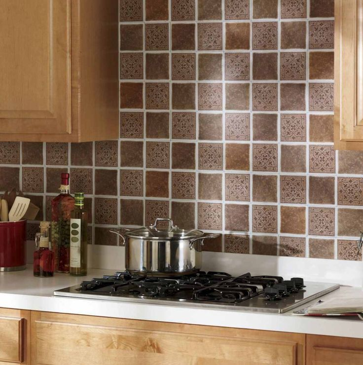 How To Spruce Up Kitchen Cabinets: Peel And Stick Backsplash To Spruce Up Kitchen