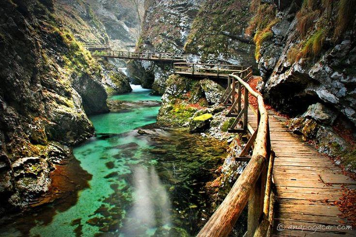 La Gorge de Vintgar en Slovénie