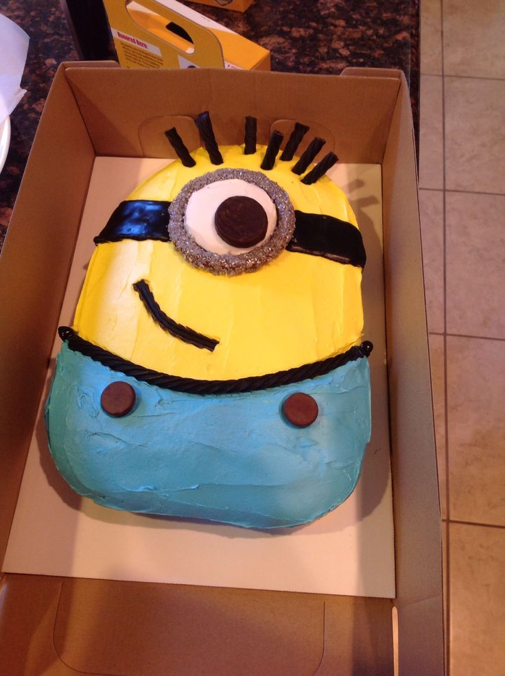 But have you ever thought of making a Minion Cake? Heather Baird from Betty Crocker presents a very detailed tutorial on how to prepare one of these charming characters at home. This would make a stunning birthday cake (I wouldn't mind to get one) but also looks as a .