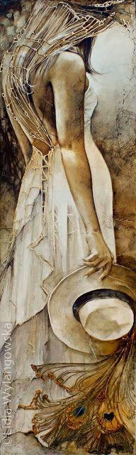 Pinturas de la artista Lidia Wylangowska
