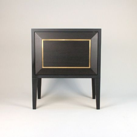 Leo Bedside Cabinet - B.I. MADE IN GERMANY COLLECTION by Birgit Israel | BEDSIDE CABINETS in the Signature Collection