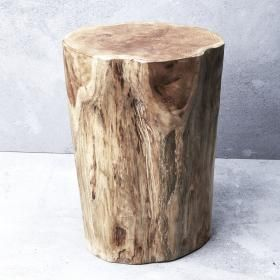 Hadi Natural Tree Stump Stool | Inartisan