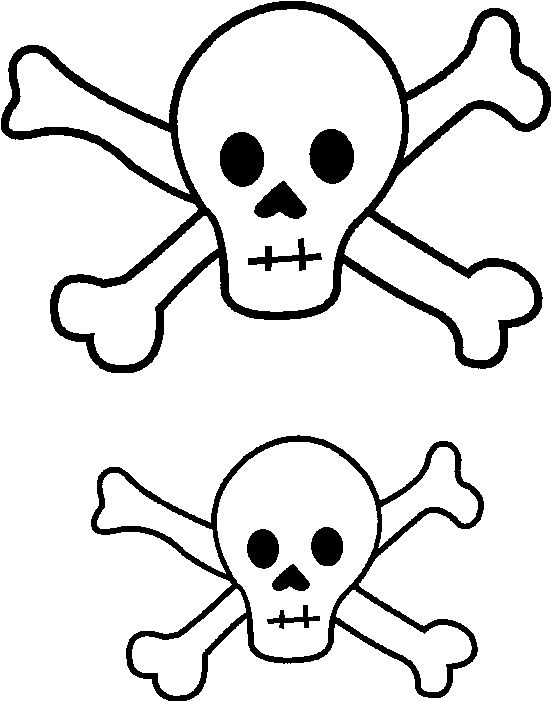 Free Printable Skull Template Sedinei Beber