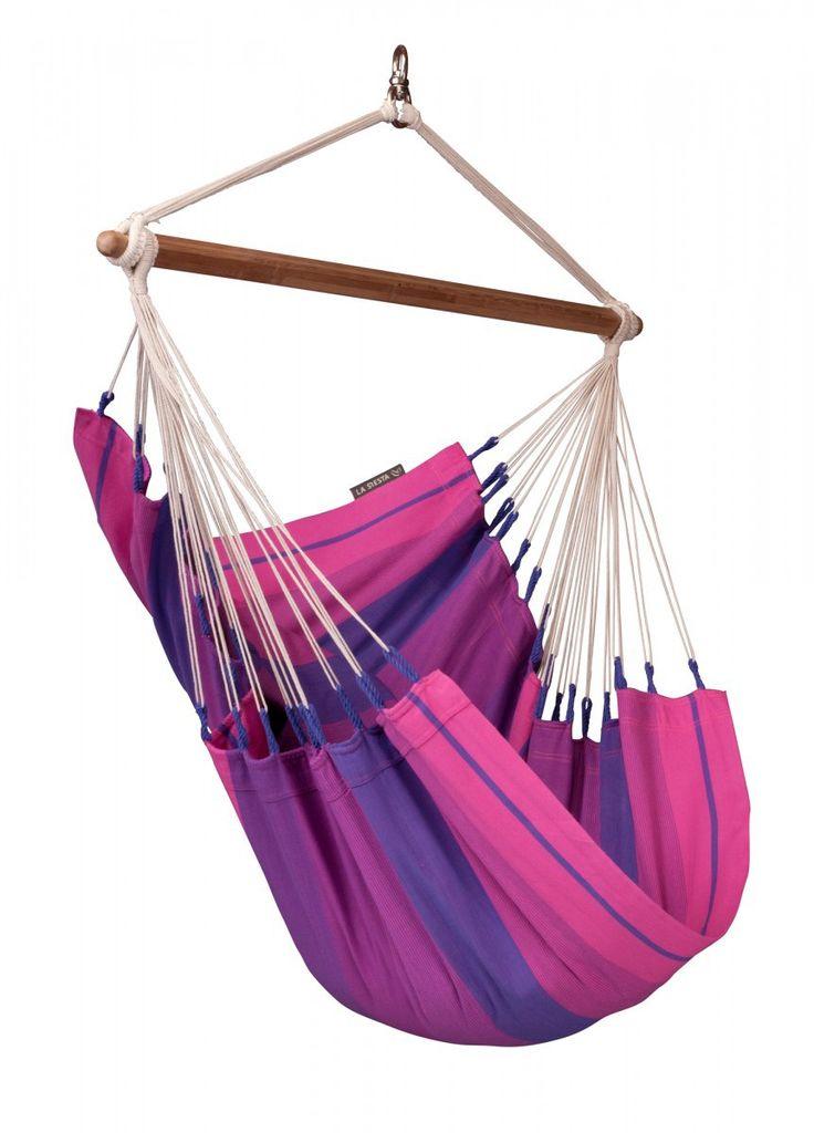 Ships FREE Ground in Cont U.S. Wow someone special with this unique gift on Christmas to use outdoors/indoors for years! Made In The Shade Hammocks - Single  Hammock Chair - Orquidea Model (Purple Color) , $109.95 (http://www.madeintheshadehammocks.com/single-hammock-chair-orquidea-model-purple-color/) #fabrichanginghammockchairs