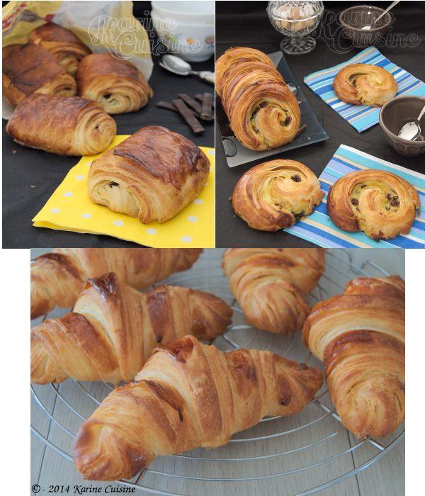 Karine Cuisine: La pâte feuilletée levée {Pour les croissants et l...