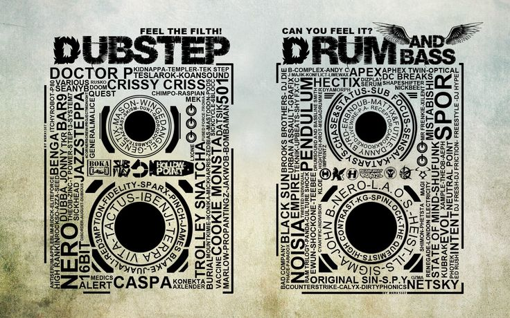 I love the artwork...no disrespect to Dupstep but gotdamn Drum n Bass!! Forever repping!!..LB NYC
