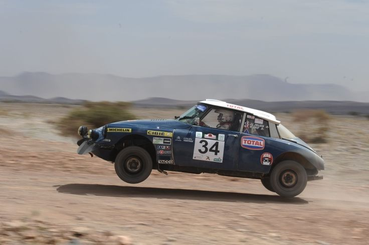 "DS21 Proto ""short"" replica - by the Daunat Classique Team, a French specialist for Citroën DS and SM models. This car is regularly entered in historic events, such as the Morocco Rally."