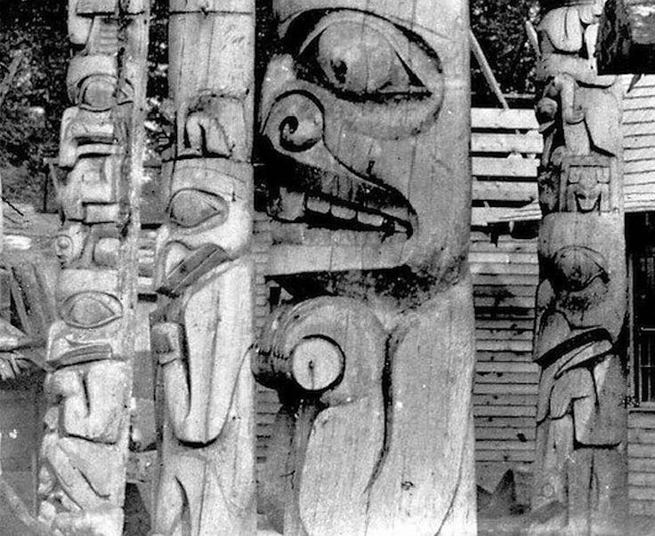 Haida Maynard Photo Totem PolesTribal