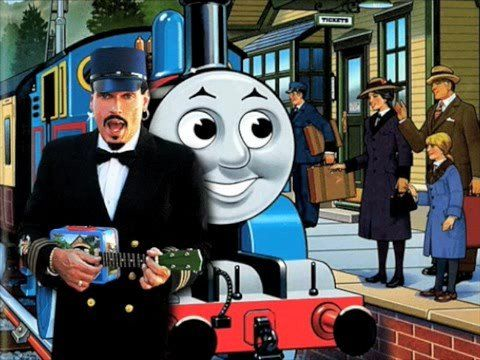 Ukulele Rays THOMAS The Cheeky Young Train