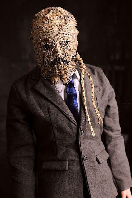 Horror movie with scarecrow