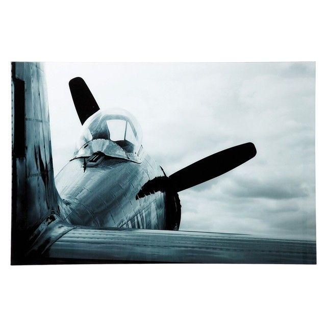Tableau en Verre Airplane 80x120cm Kare Design KARE DESIGN