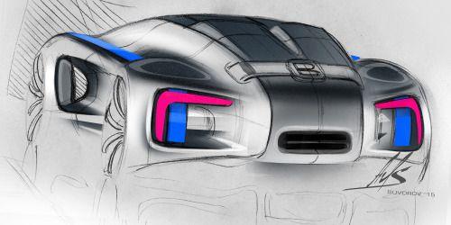 2015 | Bugatti | Design by Alexander Suvorov (AvtoVAZ LADA Design Team)