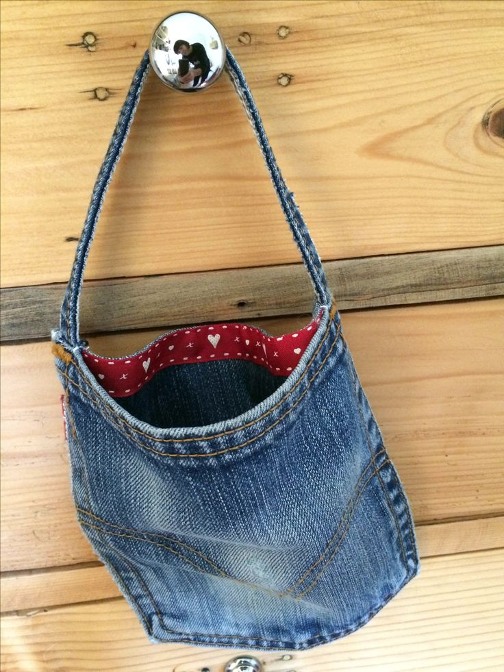 #Riciclo tasca Jeans