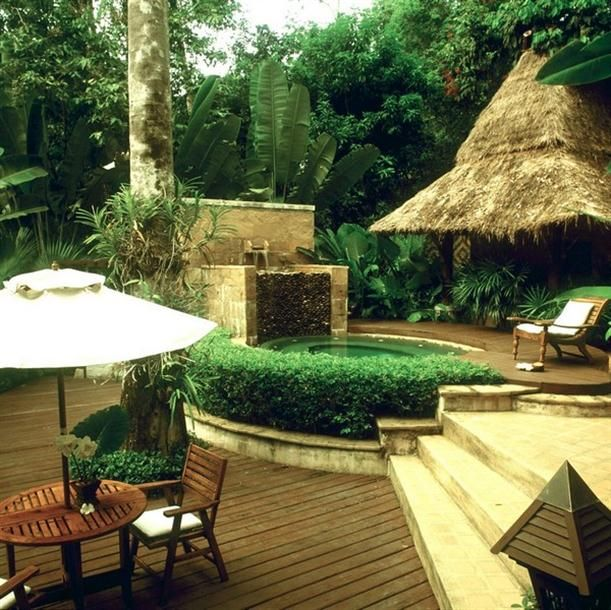 Natural Backyard Design On Pimalai Resort And Spa.