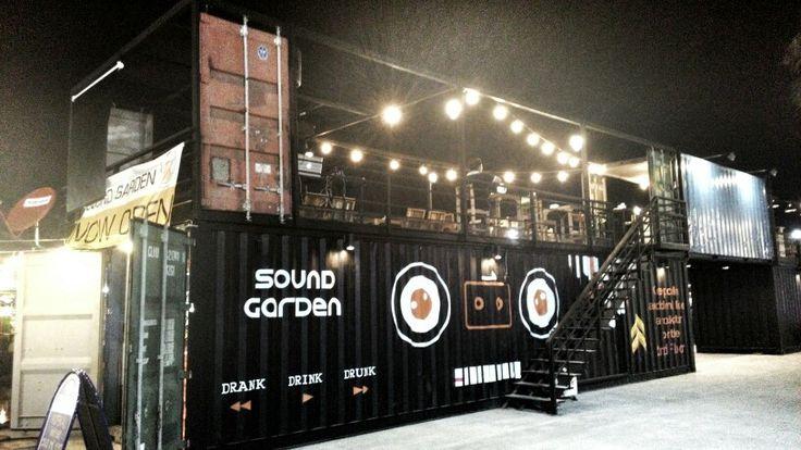 Container Bar&Restaurant Night market BKK.