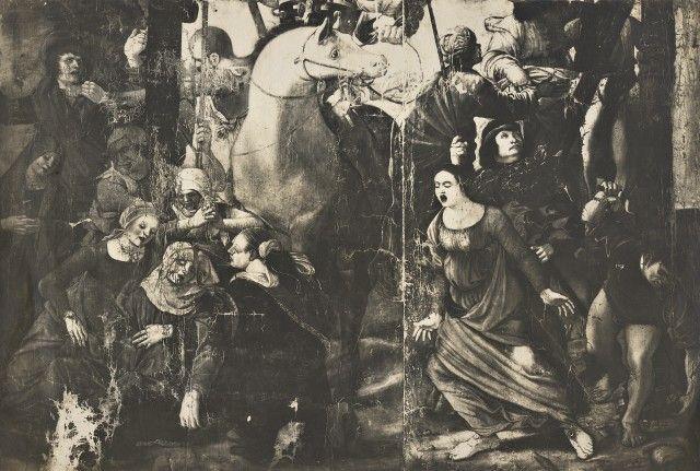 copia da Ercole de' roberti Crocifissione di Cristo - cappella Garganelli- perduta