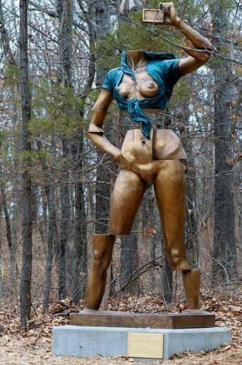 OLD FAT American nudist society body; love
