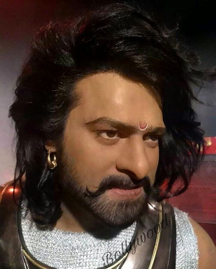 Pallavi Bhoyar: This is a wax statue of man of the moment 'Prabhas' at Madame Tussauds