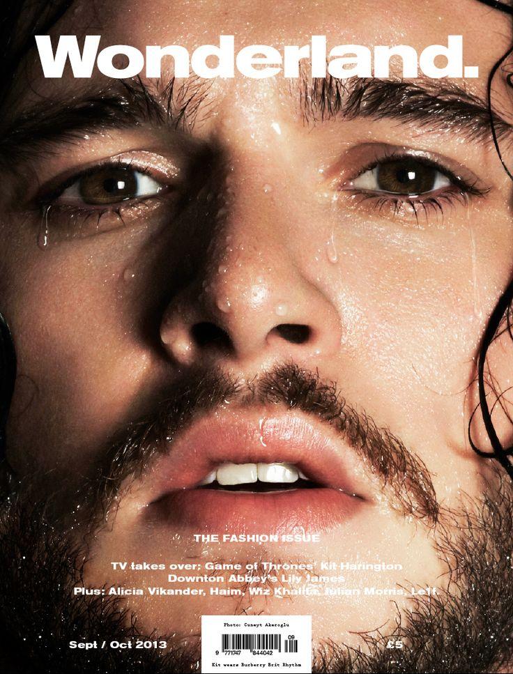 Kit Harington (aka Jon Snow) Being All Wet And Wonderful