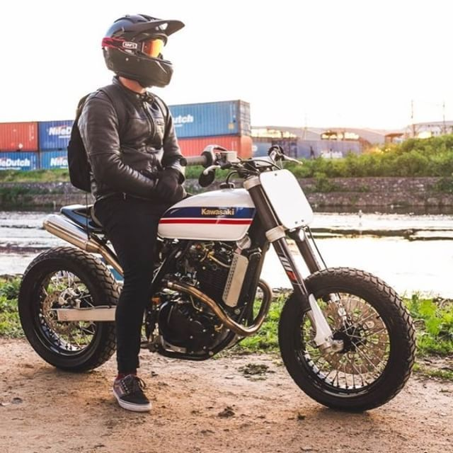 CCM Street Tracker by Wolf moto #motorcycles #streettracker #motos | caferacerpasion.com