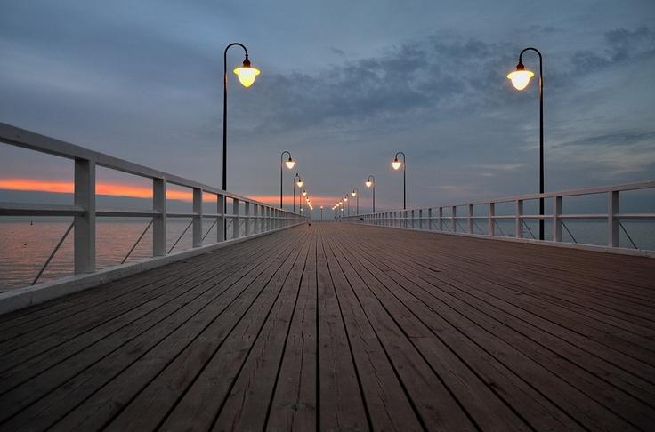 Pier Gdynia Orlowo, Poland. By Miroslaw Majka