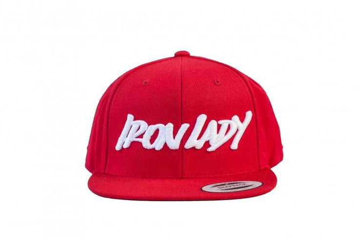 IronLady sapka - piros