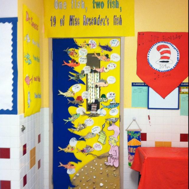 Dr. Seuss theme door decoration | I'm A Librarian ...