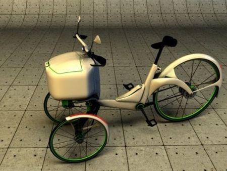 Kaylad, un concept de tricycle électrique