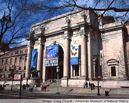 The American Museum of Natural History, located on the Upper West Side of Manhattan in New York City, United States, is one of the largest and most celebrated museums in the world. American Museum of Natural History