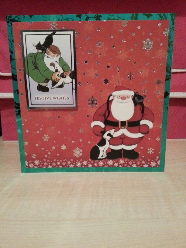 Festive Wishes LD Handmade Cards Pinterest Crafters