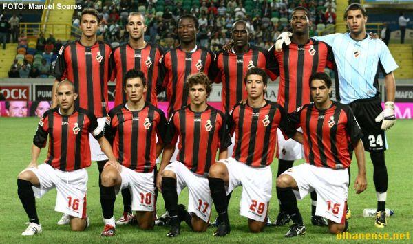 Equipa de 200972010. Primeiro ano de 1ª Divisão.