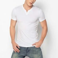 2015 men clothing cheap plain fitted white t shirts  best seller follow this link http://shopingayo.space